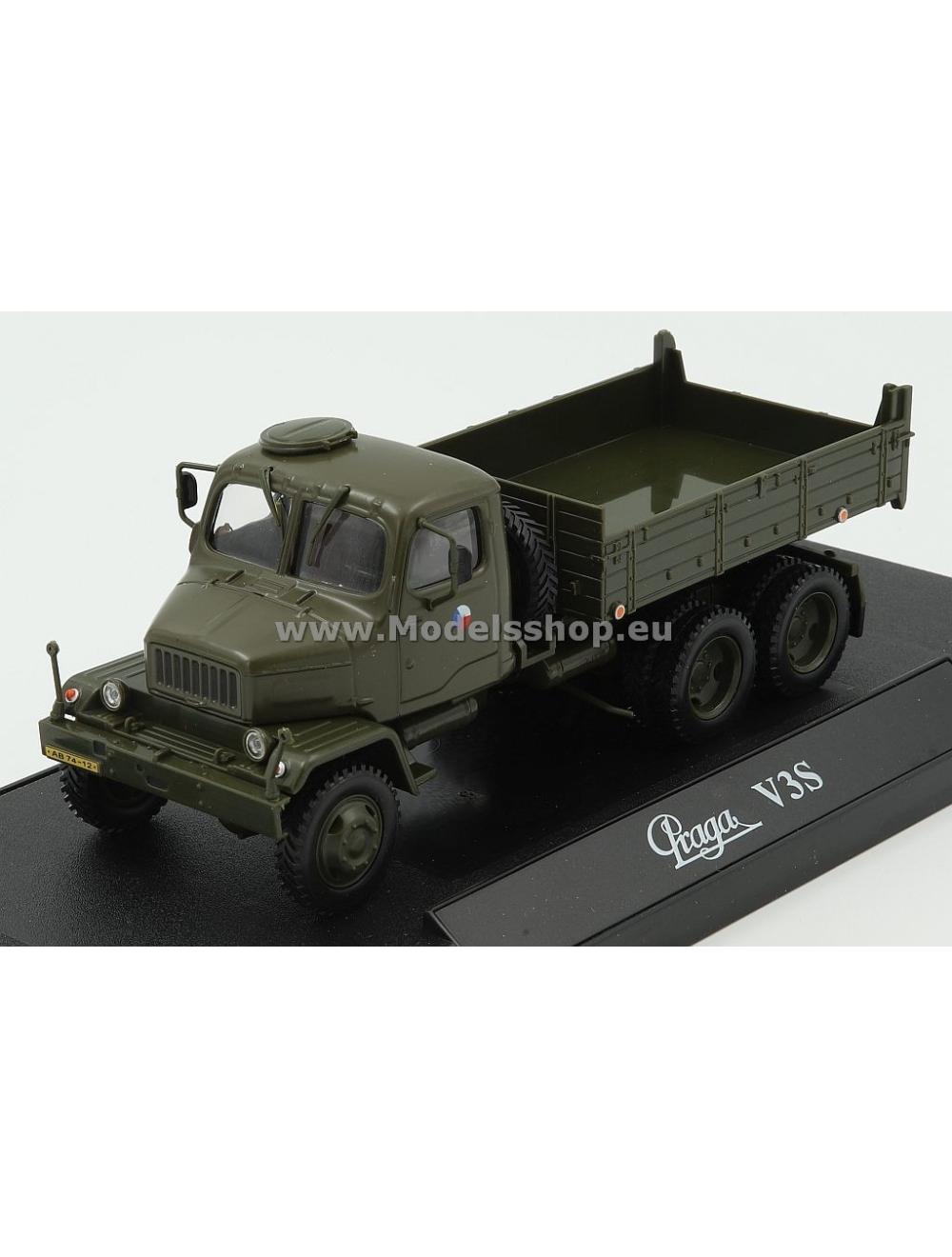 Praga V3s Flatbed Truck 1967 Czech Army Khaki