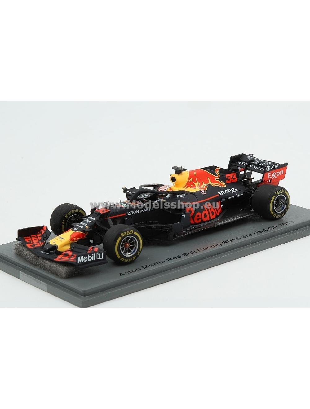 Aston Martin Red Bull Racing F1 Team No 33 3rd Usa Gp2019 Formula One 100th Gp