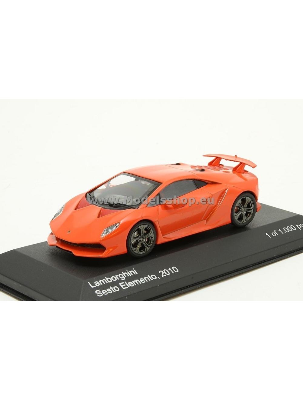 Lamborghini Sesto Elemento 2010 Red