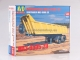 MAZ-9506-20 dump semitrailer,  model kit