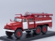 Fire engine AC-40 (ZIL-131) with white stripes