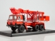 Truck with excavator UDS-114A (Tatra-815) fire department / Hasici