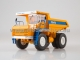 BELAZ-75473 mining dump truck, low sides /yellow-blue/