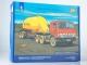 Kamaz-54112 tractor truck with semitrailer for flour transport AZP-25, model kit