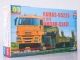 KAMAZ-65225 tractor truck with heavy semitrailer CMZAP-5247G, model kit