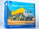 Kamaz-54112 tractor truck with semitrailer for cement TC-11, model kit