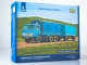 KAMAZ-5320 flatbed truck  with trailer GKB-8350, model kit