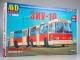 ZIU-10 articulated trolleybus, model kit
