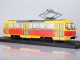 Tatra-T3SU tram /red-yellow/